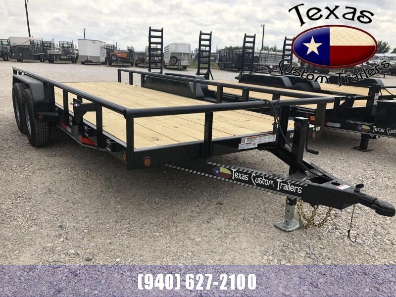 "2021 East Texas 83"" X 18'  12K Utility/Equipment Trailer"