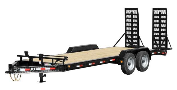 "2021 PJ Trailers 20'X8"" Pro-Beam Equipment Trailer"