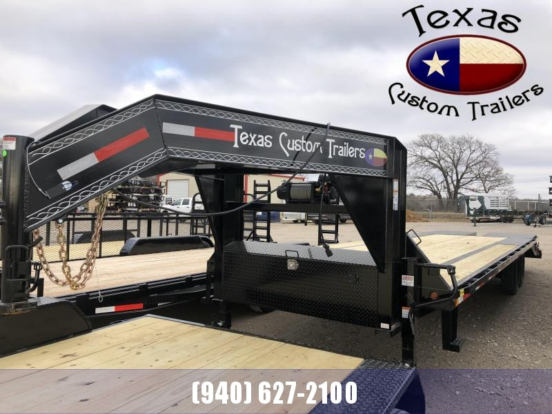2021 East Texas GN HD Deck Over 14K Equipment Trailer