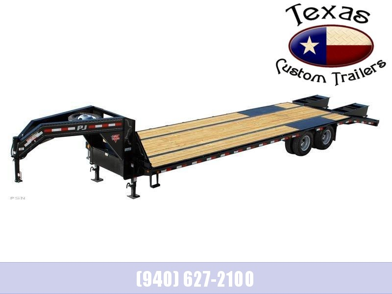 2020 PJ Trailers 40' Low-Pro Flatdeck Flatbed/Equipment Trailer with Duals