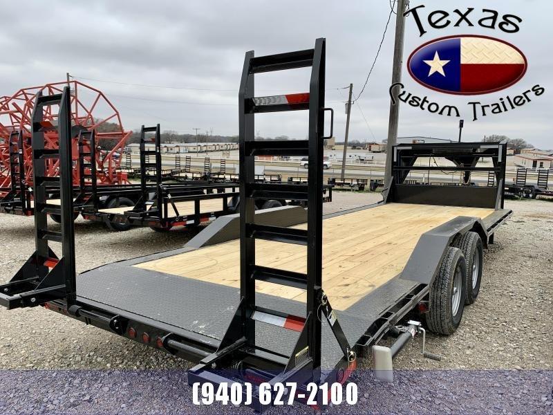 "2021 East Texas 102""X24' Gooseneck Low Boy 14K Flatbed/Equipment Trailer"