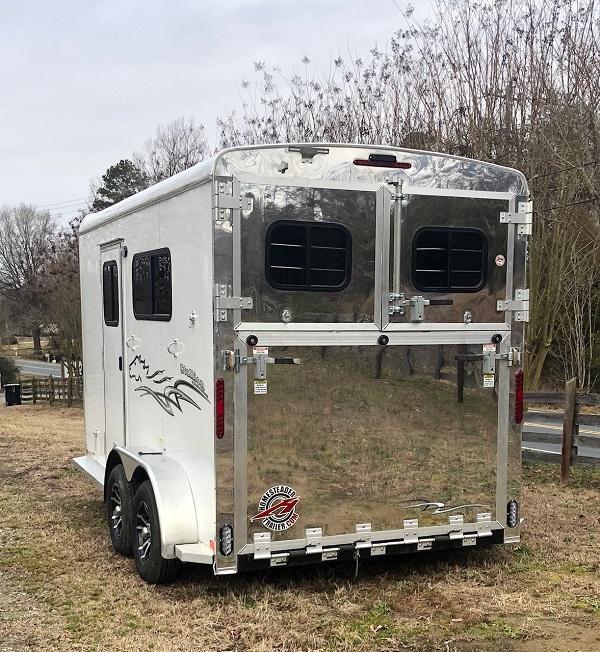 2020 Homesteader Trailers 2H Stallion Horse Trailer