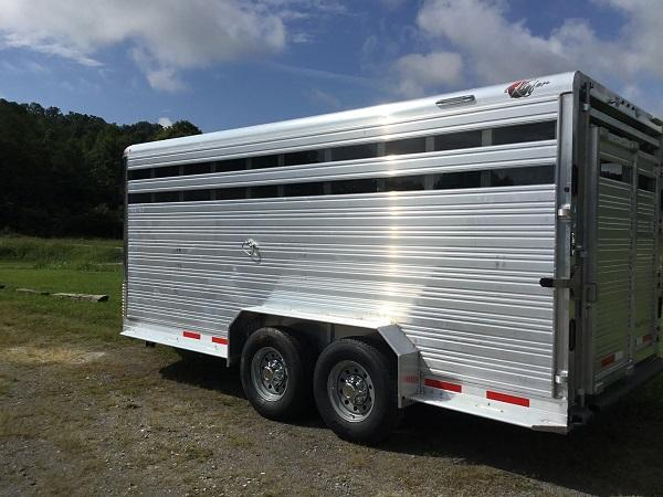 2022 Kiefer Manufacturing Stockman Horse Trailer