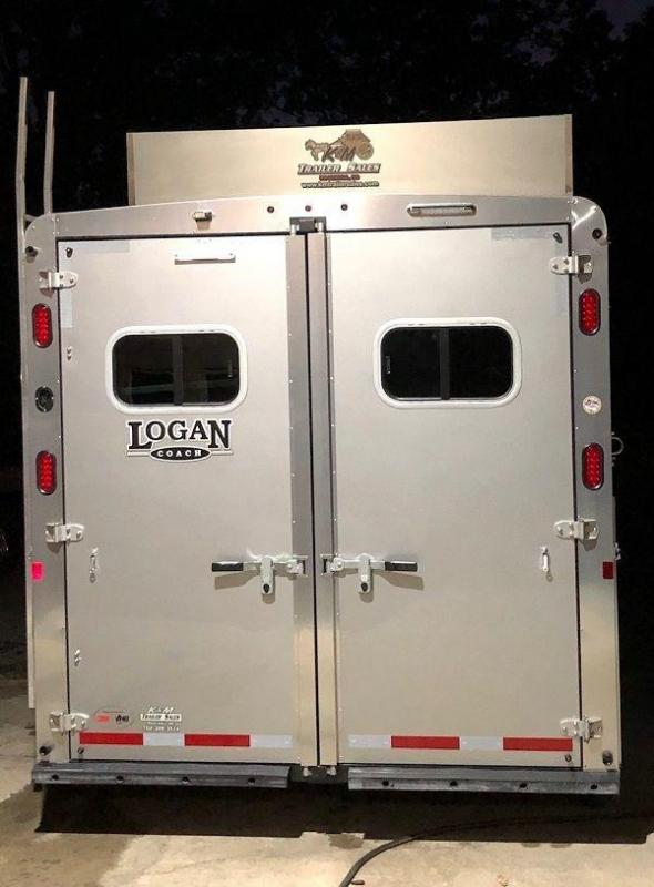 2020 Logan Select 3 Horse Trailer