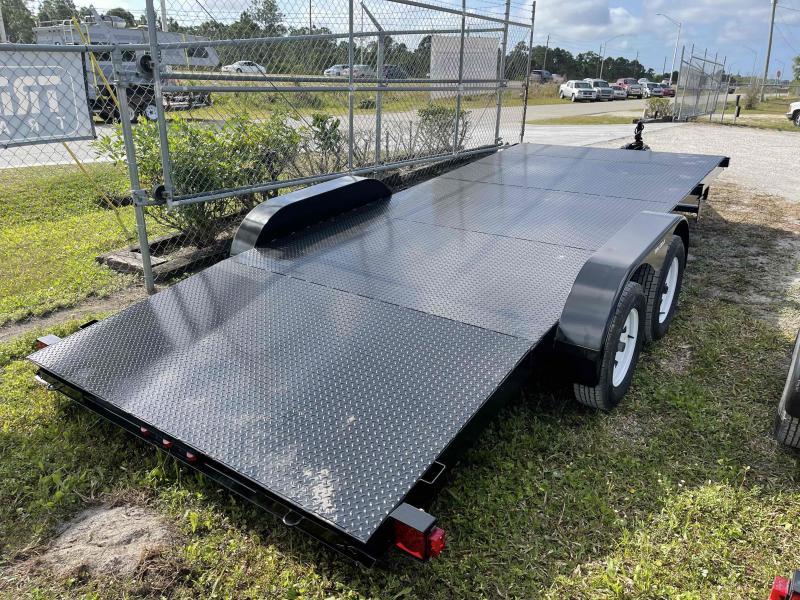 2021 Triple Crown Trailers 7' x 20' 10k Car Hauler Steel Deck