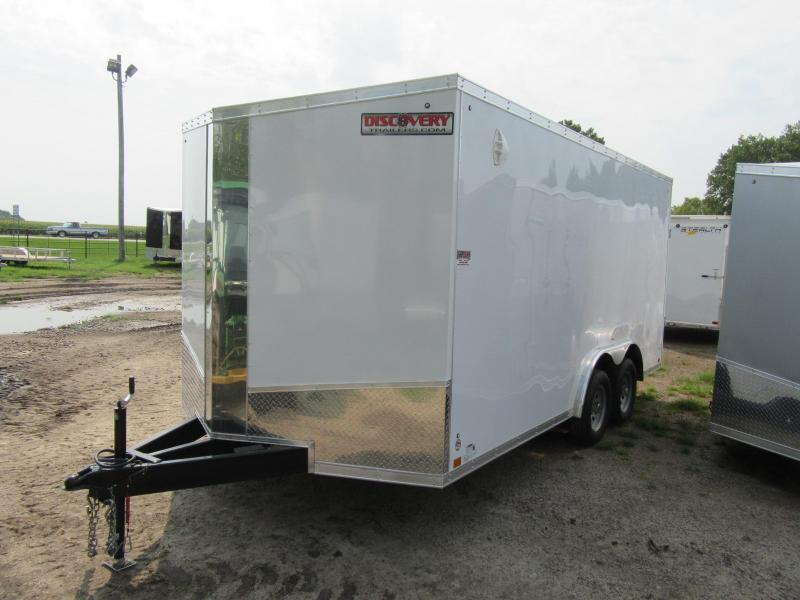 2021 Discovery 8.5' x 16' x 6.5'h Enclosed Cargo Trailer