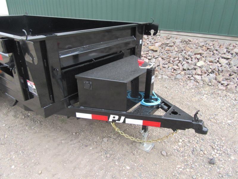 "2022 PJ 10'x60"" Single Axle Dump Trailer"