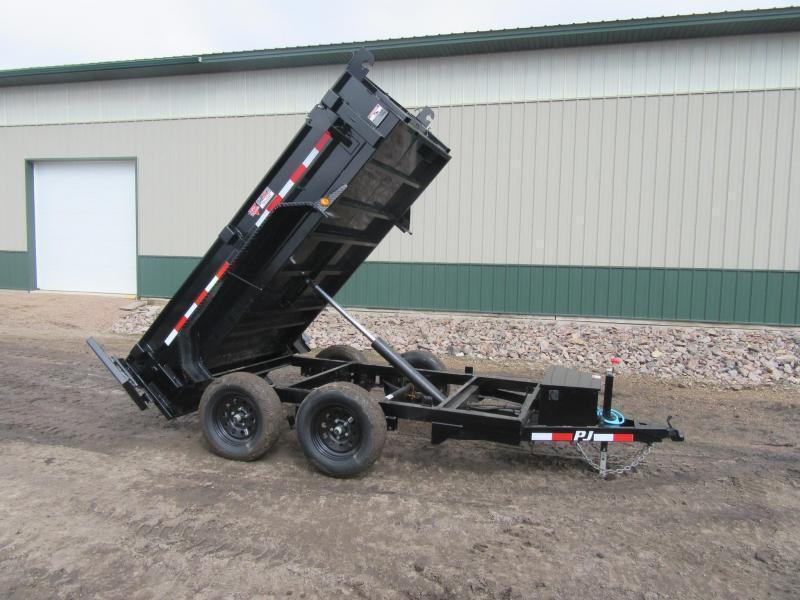 """2021 PJ 10'x60"""" 7k Tandem Dump Trailer"""