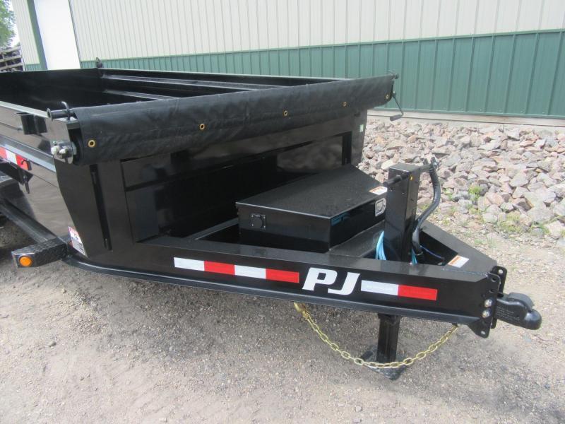 """2022 PJ 14' x 83"""" 14k Low-Pro Dump Trailer"""