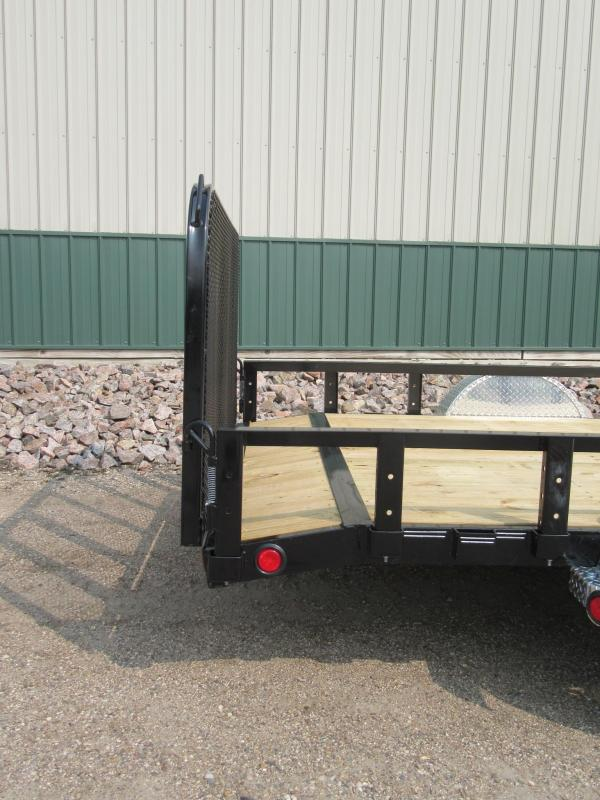 "2021 PJ 12'x83"" Channel Utility Trailer"