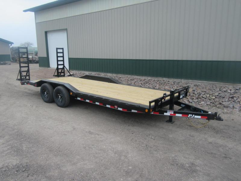 "2021 PJ 22' x 6"" Channel Super-Wide Trailer"