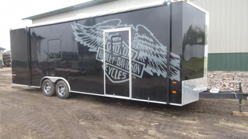 2015 American Hauler NIGHT HAWK Car / Racing Trailer