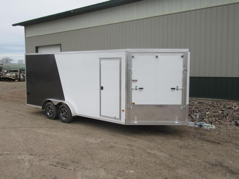 2021 7.5'x23' EZ Hauler Aluminum Enclosed Snowmobile Trailer