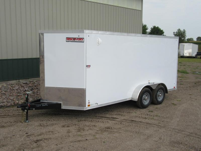 2021 Discovery 7' x 16' x 6.5'h 10k Enclosed Trailer