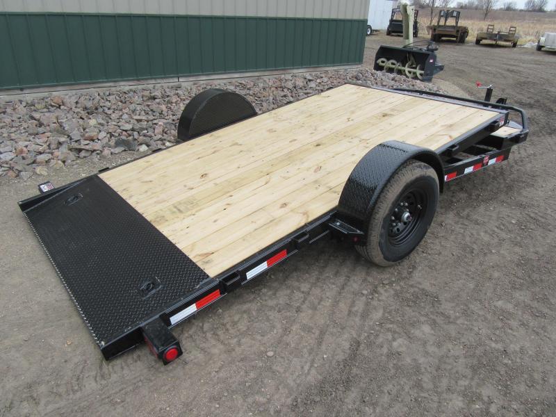 2020 PJ 16' Single Axle HD Tilt Trailer