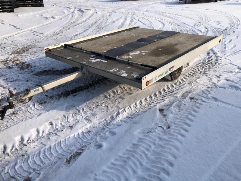 1995 Ravens 8'X10' Snowmobile Trailer