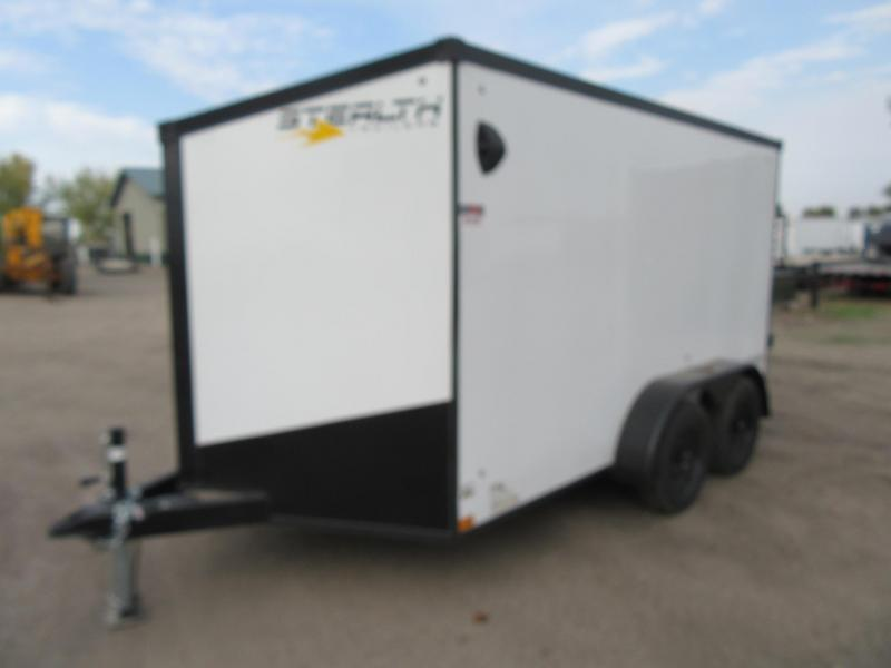 2021 Stealth Titan 7'x12' Tandem Enclosed Trailer