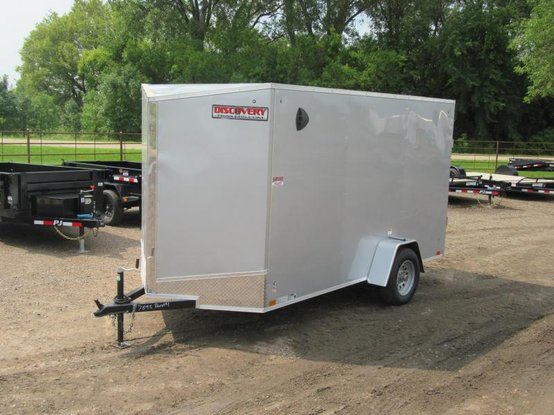 2021 Discovery 6' x 12' x 6.5'h Enclosed Trailer