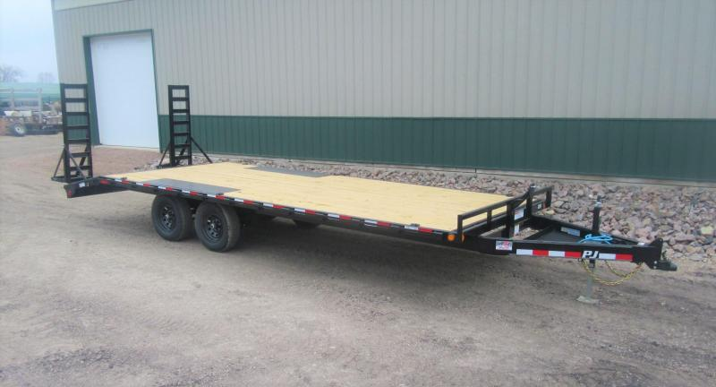 2021 PJ 22' Medium Duty Deckover Trailer