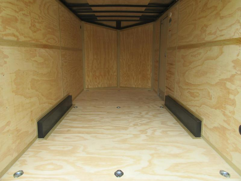 2021 Cargo Mate 7.5'x16' E-Series Enclosed Cargo Trailer