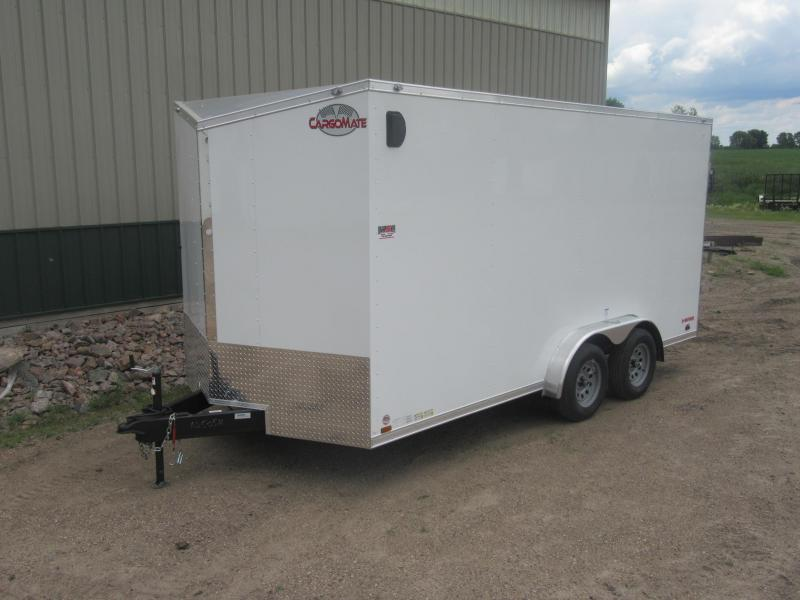 2021 Cargo Mate 7.5'x16' E-Series Enclosed Cargo Trailer