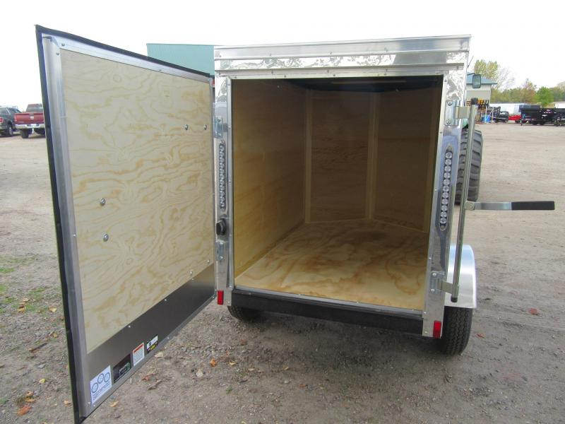 2021 Cargo Mate 4'x6' Enclosed Trailer