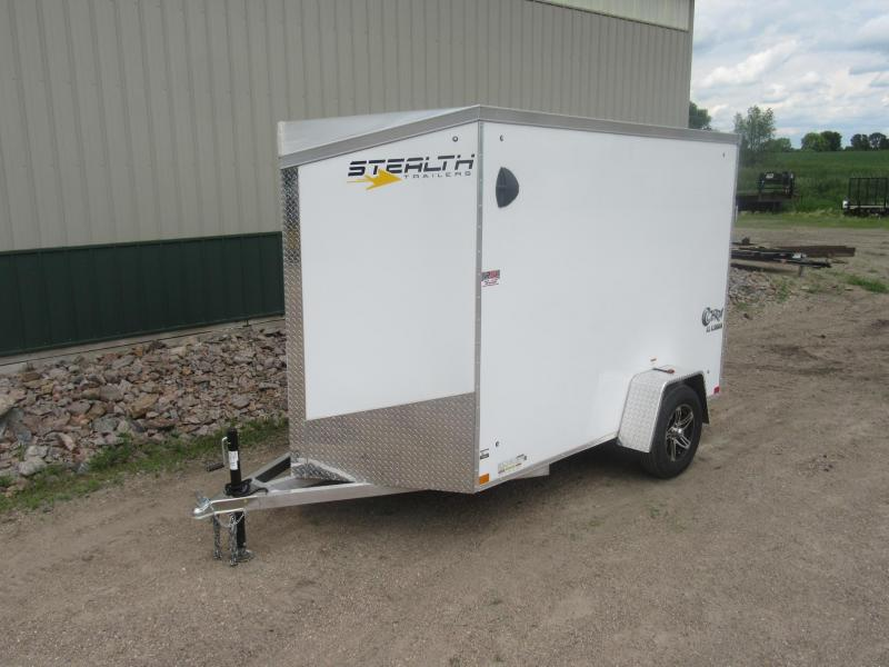 "2021 6'x10' x 6'6""h Stealth Cobra - All Aluminum Enclosed Trailer"