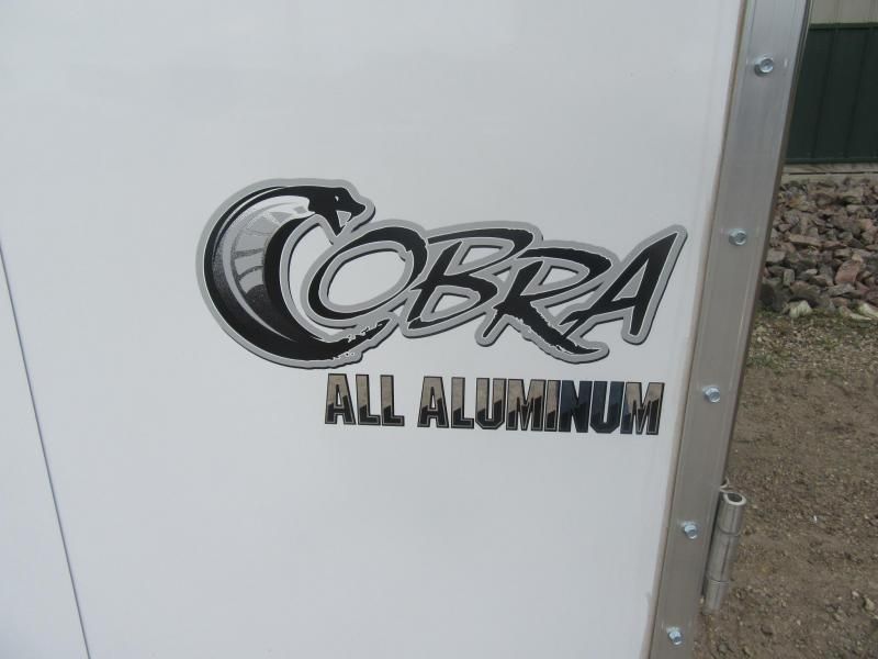 "2021 6'x10' x 6'6""h Stealth Cobra - All Aluminum Enclosed Trailer"