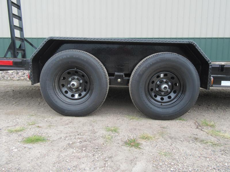"2021 PJ 20'x5"" Channel Equipment Trailer"