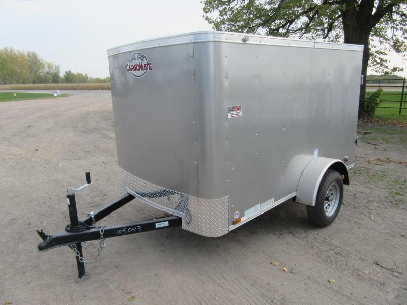 2021 Cargo Mate 5'x8' Enclosed Trailer