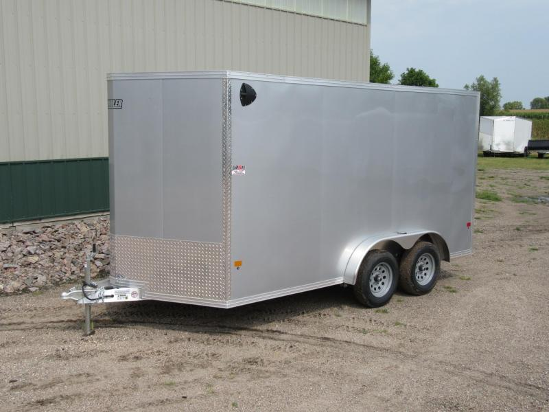 "2020 E-Z Hauler 7.5' x 14' x 82""h Aluminum Enclosed Trailer"