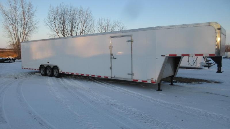 2015 Cargo Mate Eliminator 48' GN Enclosed Triple Axle Car Hauler Trailer