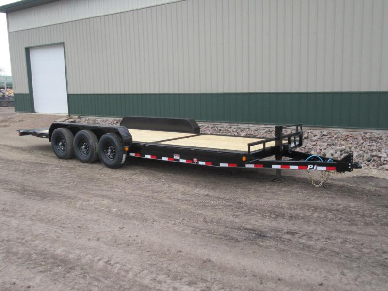 2021 PJ 24' HD Equipment Tilt - Triple Axle