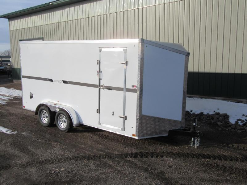 2021 Stealth 7'X16' Fiberglass Enclosed Trailer