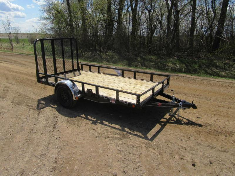 "2021 PJ 10' x 77"" Channel Utility Trailer"