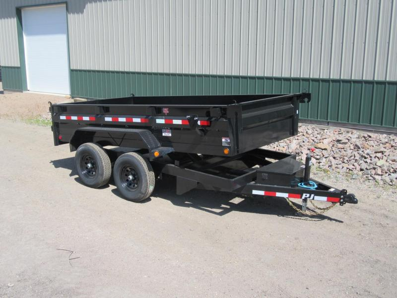 "2021 PJ 12'x72"" Medium Duty Dump Trailer (D3)"