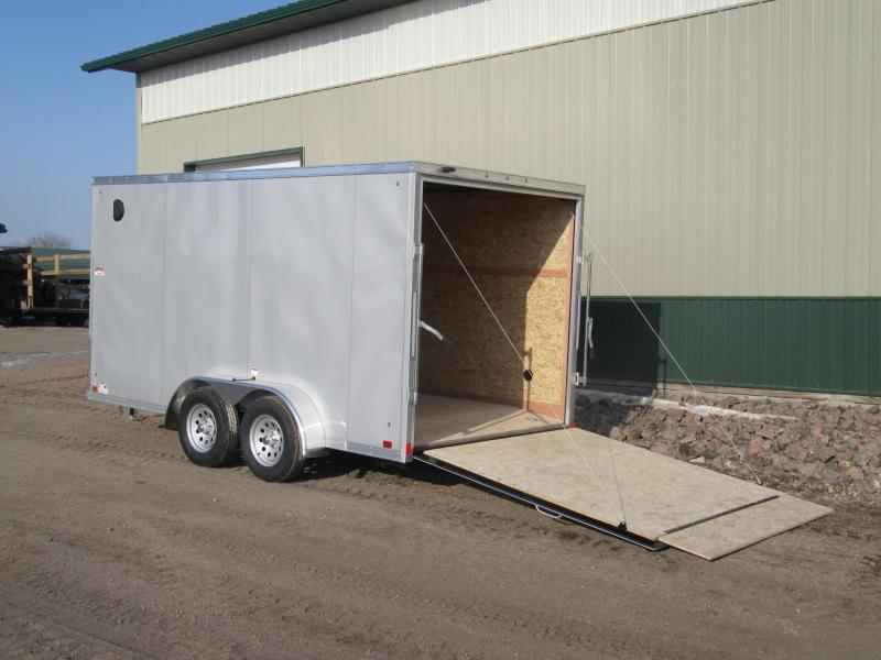 2020 7'x14' Discovery Enclosed Trailer