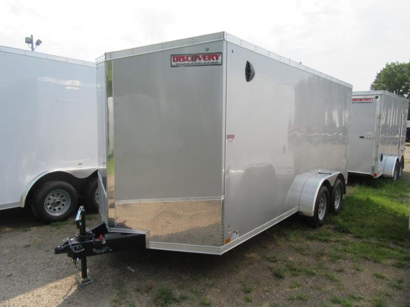2021 Discovery 7' x 16' x 6.5'h Enclosed Trailer