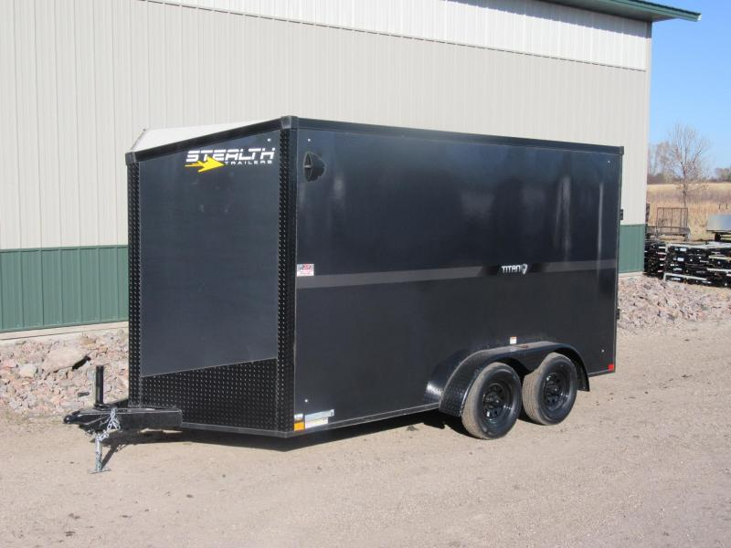 2021 Stealth 7'X14' Fiberglass Enclosed Trailer