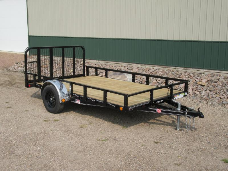 "2021 PJ 12'x77"" Channel Utility Trailer"