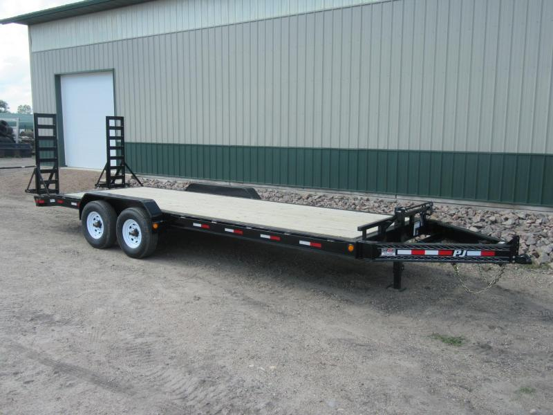 "2020 PJ 22' x 8"" Pro-Beam Equipment Trailer"