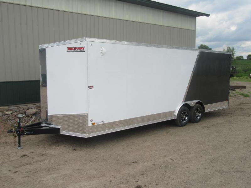 2021 8.5' x 24' x 6.5'h Discovery Enclosed Carhauler