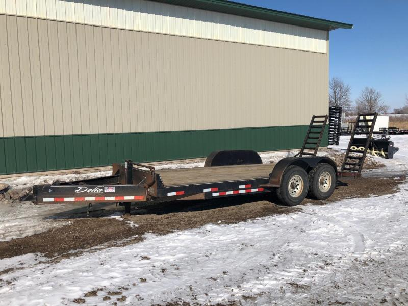 2006 Delta 18' 14k Equipment Trailer