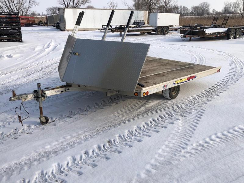 2010 Newman 8.5'X10' Snowmobile Trailer
