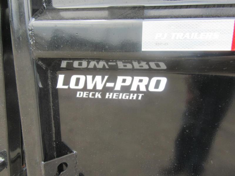 """2021 PJ 14'x83"""" Low Pro Dump Trailer Pro (DL)"""