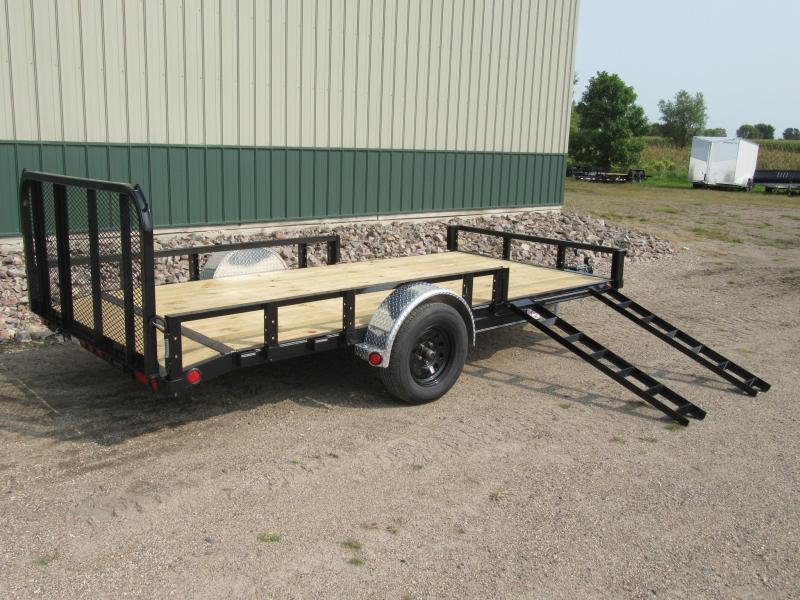 "2021 PJ 14'x83"" Channel Utility Trailer"