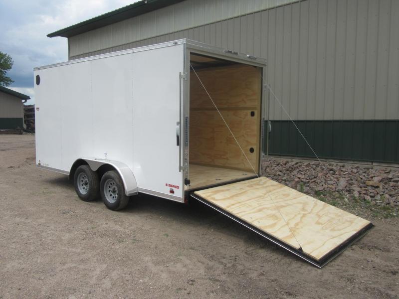 2021 Cargo Mate 7'x16' E-Series Enclosed Cargo Trailer