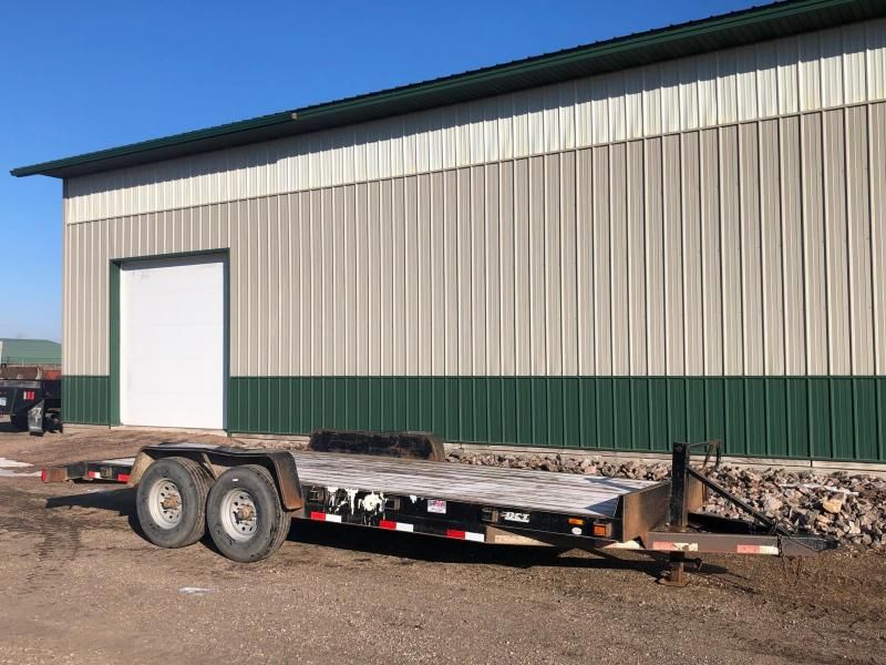 2014 DCT 20' 14k Equipment Trailer