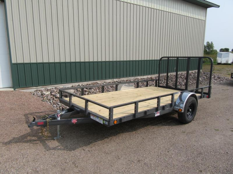 "2021 PJ 14' x 83"" Channel Utility Trailer"