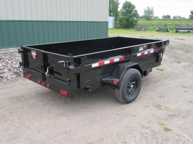 "2021 PJ 10'x60"" Single Axle Dump Trailer"